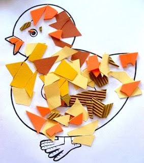 Easter Activity - Easter Chick - you could easily do this for any holiday! Love it!