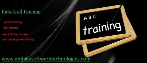 Industrial Training : we provides 6 month's industrial training in PHP,.Net ,IPhone ,Web Desigining and SEO   www.ambikasoftwaretechnologies.com | ambikatech