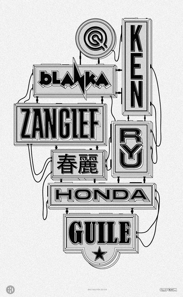 Typography by Bao Nguyen