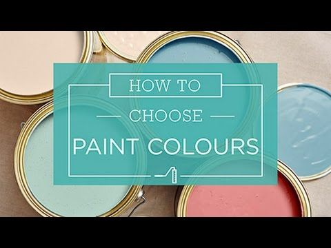 How To: Choosing Paint Colours - Taubmans Australia - YouTube