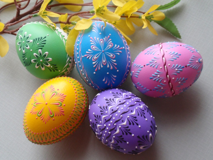 255 Best Decorating Easter Eggs Images On Pinterest