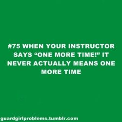 """NEVER means """"1 time"""": Dancers Prob"""