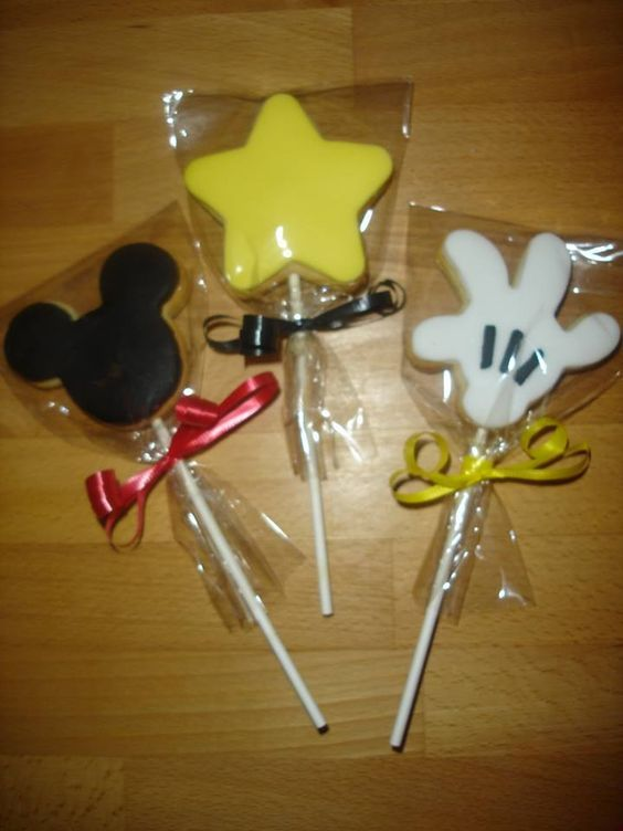 Mickeys Clubhouse cookie Pops