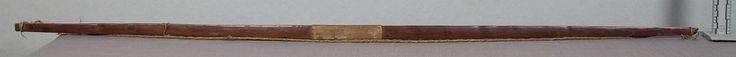 Лук, Шайены. Вид два. Коллекция полковника Charles H. Heyl.  Дата поступления 1927 год. NMNH.