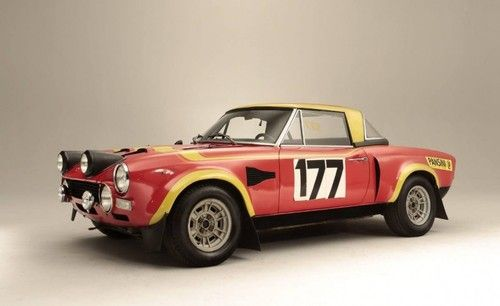 1973 Fiat-Abarth 124 Rallye Two-Seat Rally Competition Coupé