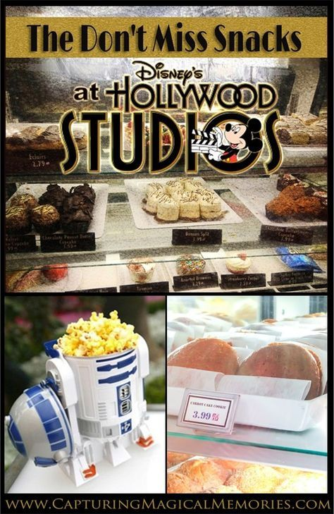 The 3 Don't Miss Snacks at Disney's Hollywood Studios at Walt Disney World