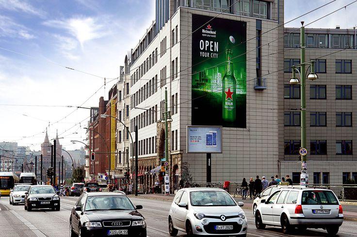 Heineken | Berlin | Warschauer Brücke | Riesenposter