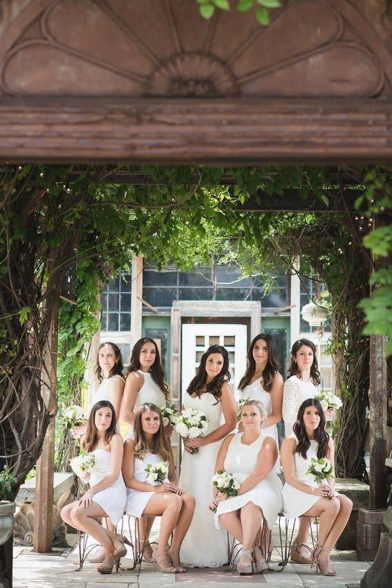 Chicago all-white wedding