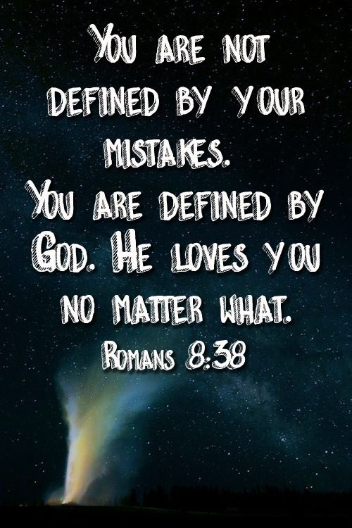 OUR GOD IS GREATER THAN YOUR MISTAKES - Bible verses about making mistakes Learn Biblical Spanish with http://learnspanishthroughbible.blogspot.com It's free! Try it, practice it and happy learning. Blessings.                                                                                                                                                                                 More