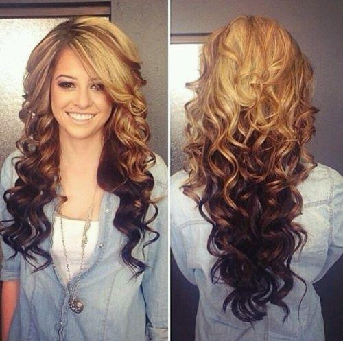 Fabulous 15 Moglichkeiten Lockige Haare In Fashion Tone Style Frisuren Lockige Frisuren Und Haarfarben