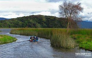 Lago Guamuéz más conocido como laguna de la Cocha.
