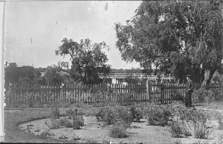 025428PD: Grounds of St Mary's Church Rectory, Busselton, ca 1910 http://encore.slwa.wa.gov.au/iii/encore/record/C__Rb3305394?lang=eng