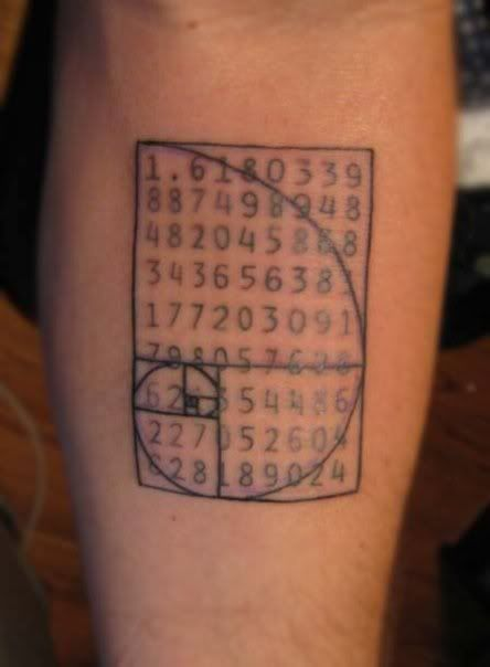 42 best Fibonacci Rectangle Tattoo images on Pinterest ...