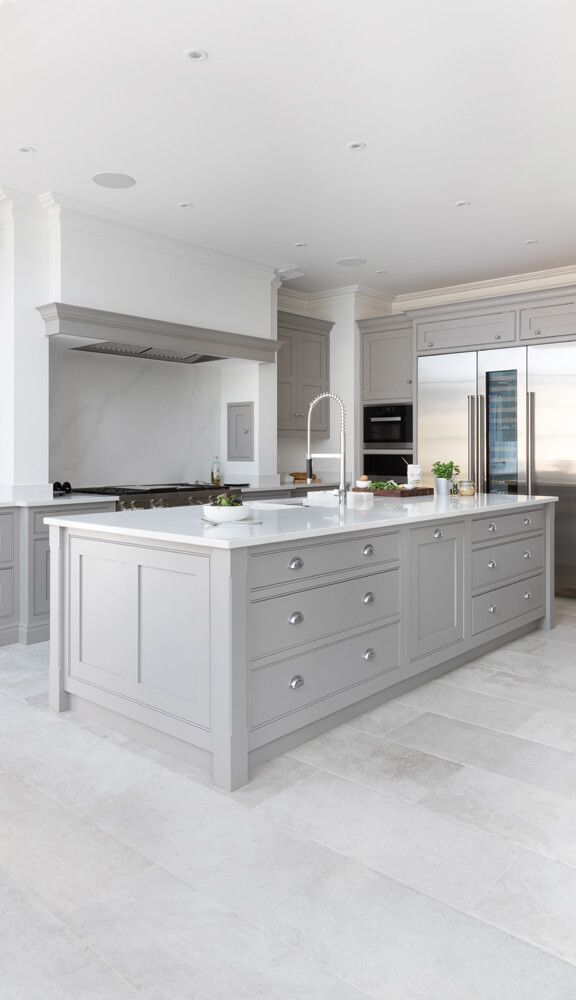 Modern Open Plan Kitchens Deserve A Statement Island This Larger Than Life Island Has Been Crafted Modern Kitchen Open Plan Kitchen Design Small Kitchen Plans