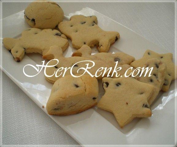 Damla Çikolatalı Kurabiye-kolay,basit,pratik kurabiye tarifleri,çay saati,toplantı tarifleri,ikramları, tatlı un kurabiyesi, damla çikolata,tatlı kurabiye,