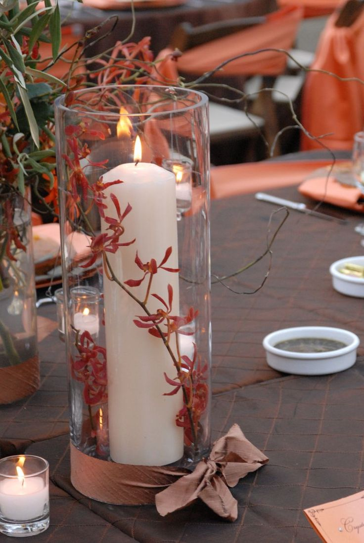 Autumn table centerpiece inspiration fun party themes