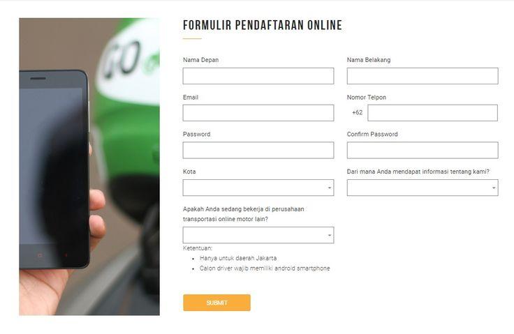 Cara Daftar Driver Gojek Secara Online Terbaru - Dibacaonline