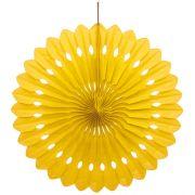 Sarı Yelpaze Süs 40 cm