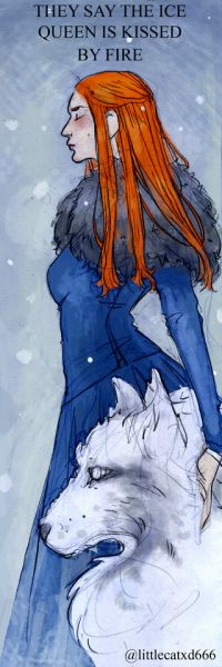 They say the Ice Queen is kissed by fire