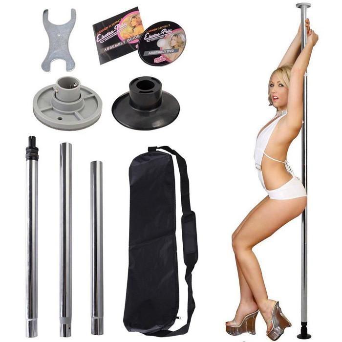 Felji Dance Pole Full Kit Portable Stripper Exercise Fitness Club Party