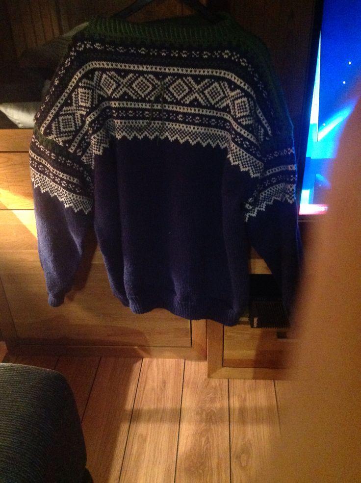 Traditional Norwegian Mariussweater
