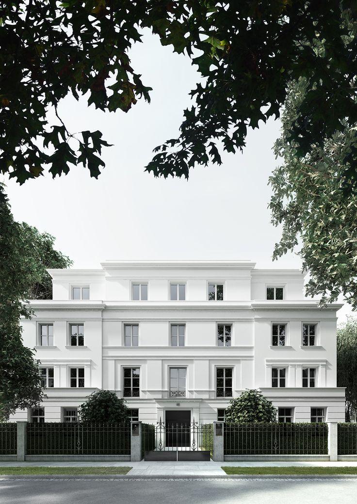 Wohnbebauung hamburg rotherbaum projekte pinterest for Klassische villenarchitektur