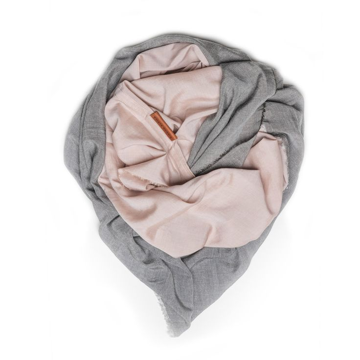 Two Tone Wingtip Scarf from Krista Norris
