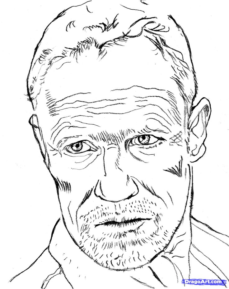 daryl dixon coloring pages - photo#34