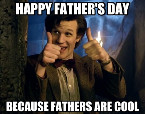 doctor who father's day screencaps