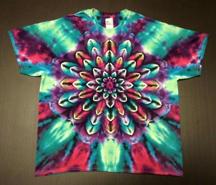 tie dye patterns instructions with pictures
