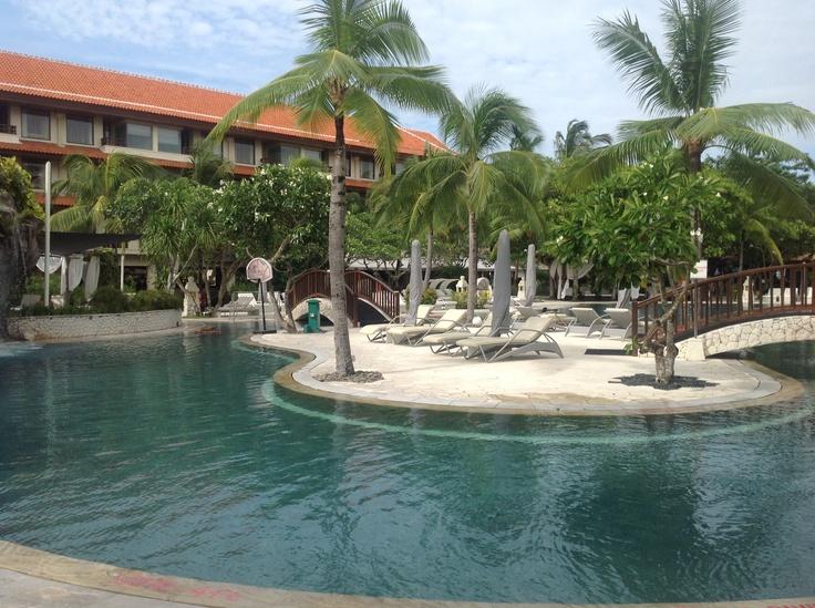 Pool at Westin  nusa dua Bali  Relaxed mode....