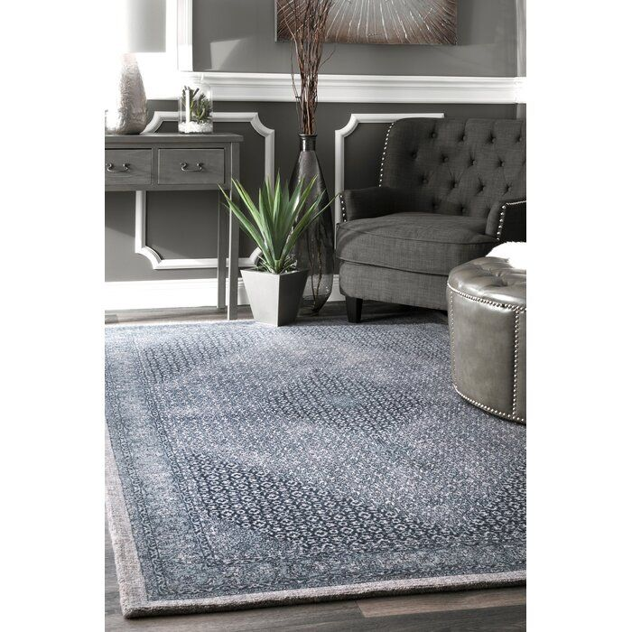 Bungalow Rose Perlman Handwovenflatweave Wool Navy Area Rug Reviews Wayfair Area Rugs Rugs Modern Area Rugs