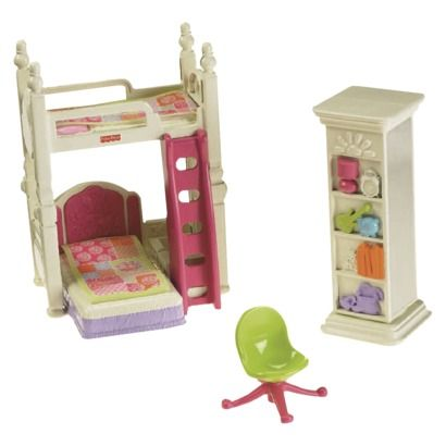Fisher Price Loving Family Deluxe Decor Kids Bedroom. 47 best Fisher price doll house images on Pinterest