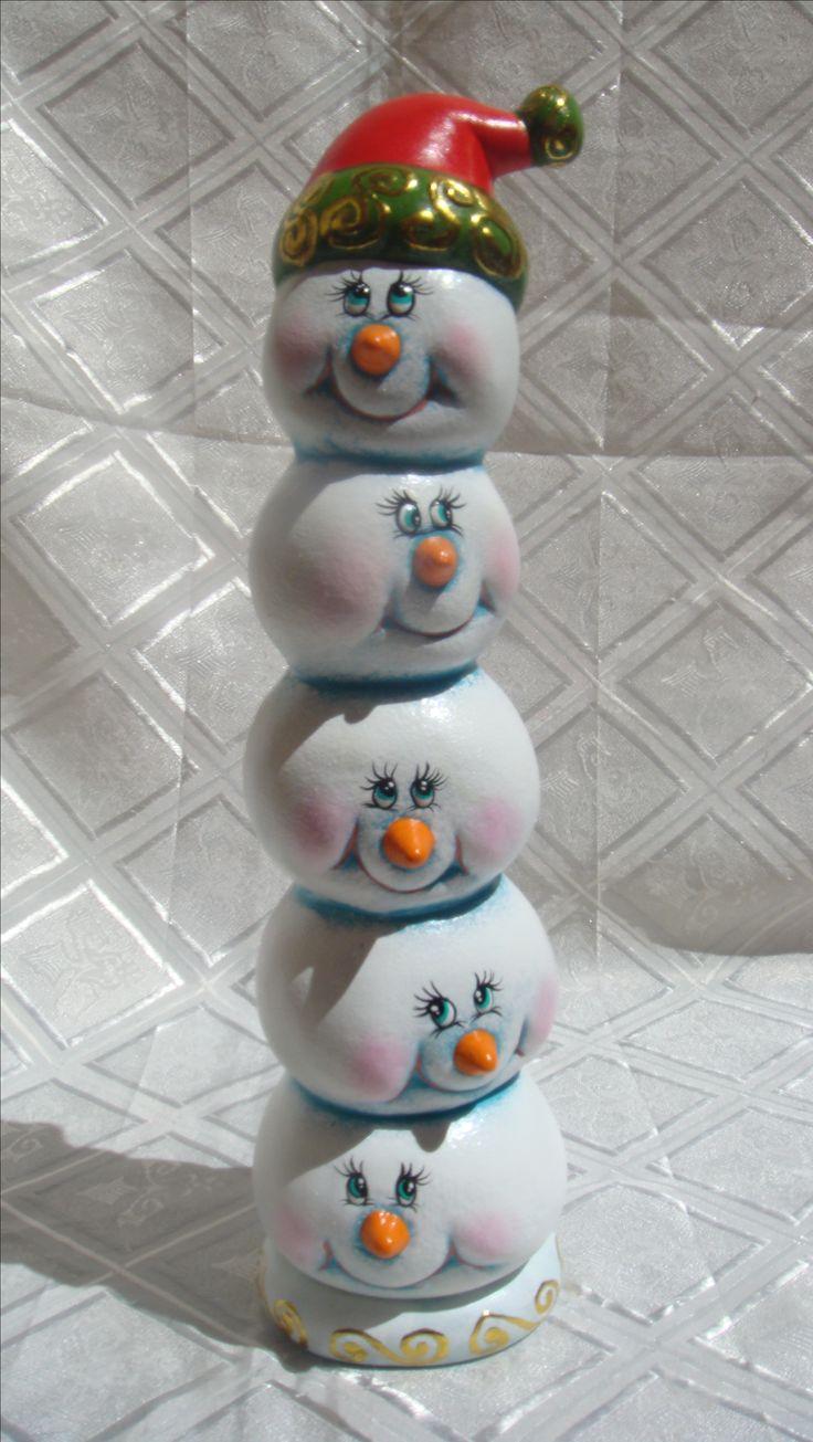 Bolas de Nieve Adorno Navideño