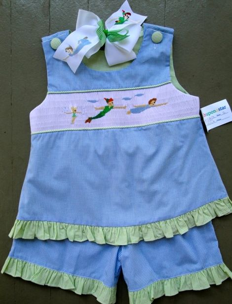 """""""Darling"""" little smocked outfit!"""