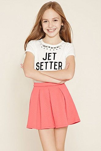Girls Pleated Skirt (Kids)