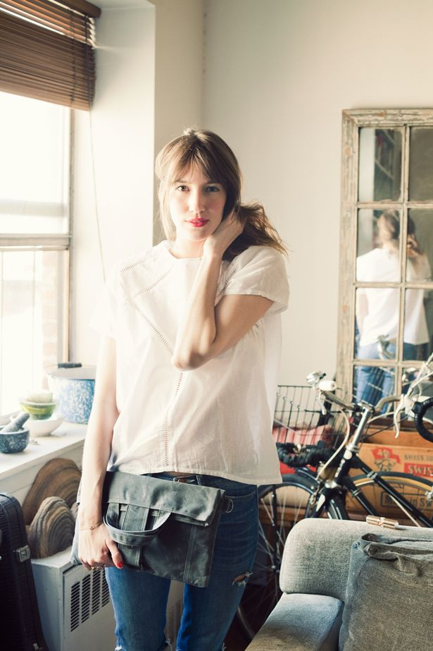 light as air, forest, bluey blueBlack Clutches, Bicycles, Fashion, Moop Bags, Wax Canvas, Street Style, Red Lips, Bangs, White Blouses