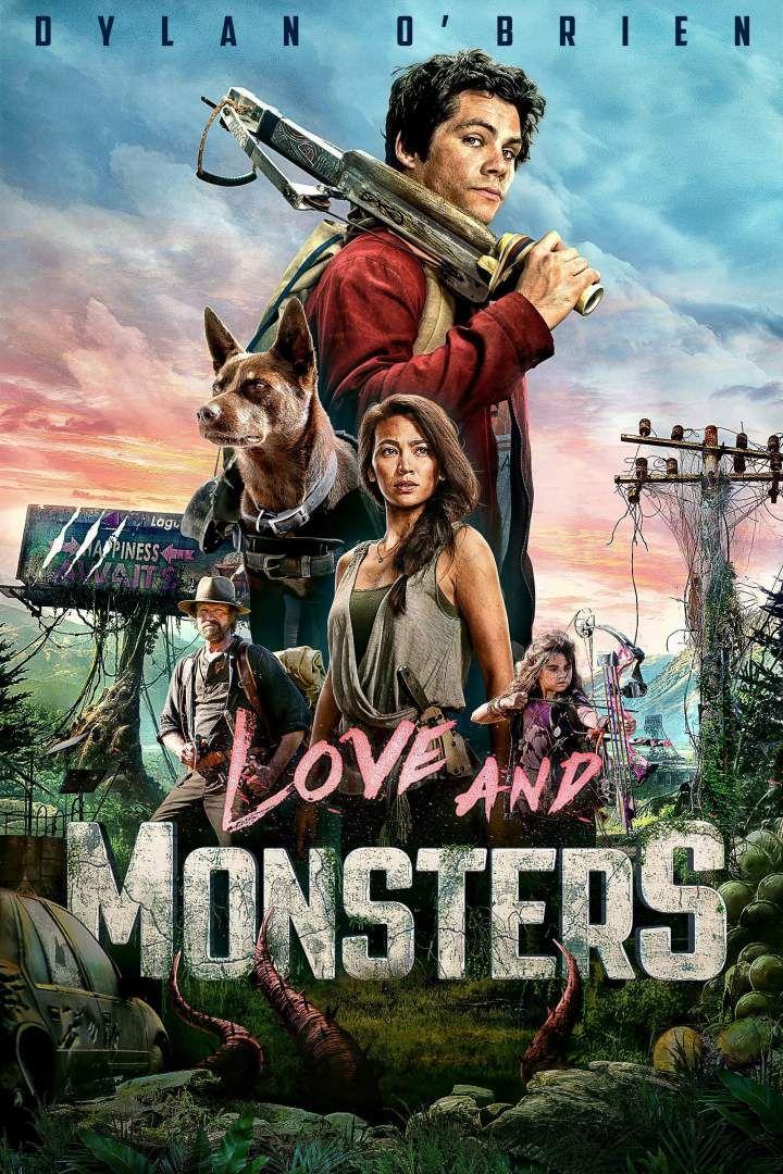 Movie Love And Monsters 2020 Movie Monsters Love Monster Adventure Movies