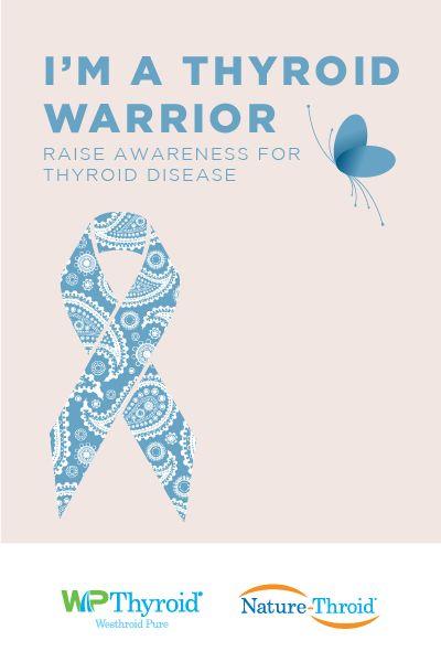 Raise awareness for thyroid disease #hypothyroidism