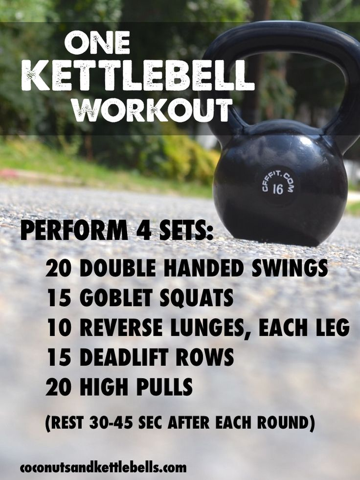 One Kettlebell Workout (great workout that can be done anywhere!) - Coconuts & Kettlebells