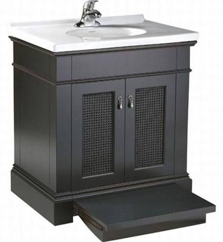 30 inch black bathroom vanity