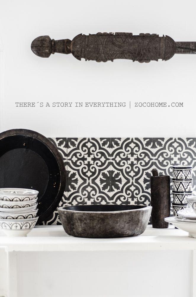 Moroccan cement tiles www.shop.zocohome.com | www.kauppa.zocohome.fi