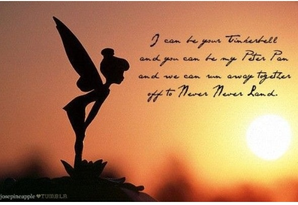 Tinkerbell Peterpan Fun Pictures Amp Quotes Pinterest