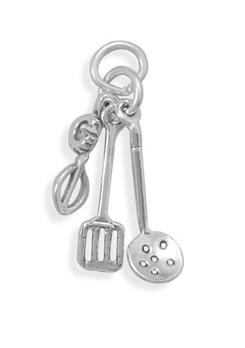 Oxidized Utensil Charm With Images Utensil Oxidation