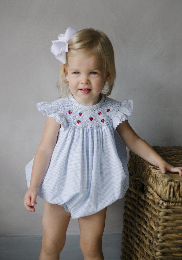 Little English Little English Clothing Smocked Baby