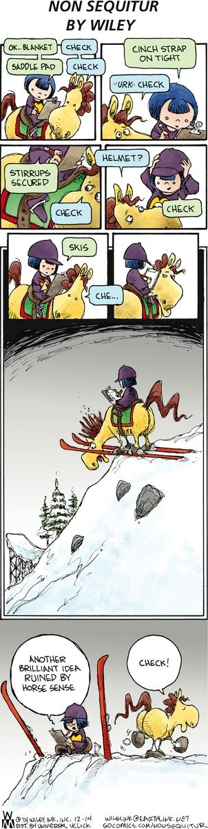 Non Sequitur Comic Strip on GoComics.com