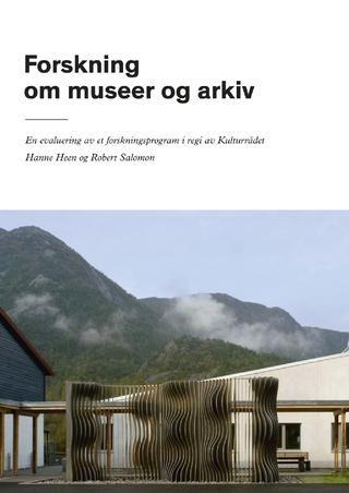 Forskning om museer og arkiv