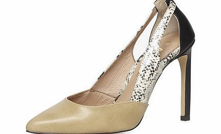 Dorothy Perkins Womens Ravel nude Court Shoe- Multi Colour Versatile nude court shoe, featuring a pointed toe, snake skin design with stiletto heel. Colour block design. Heel Height 11cm. 100% Leather. Machine washable. http://www.comparestoreprices.co.uk//dorothy-perkins-womens-ravel-nude-court-shoe-multi-colour.asp