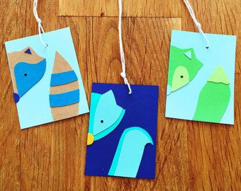 Woodland creatures / forest animals gift and favour tags