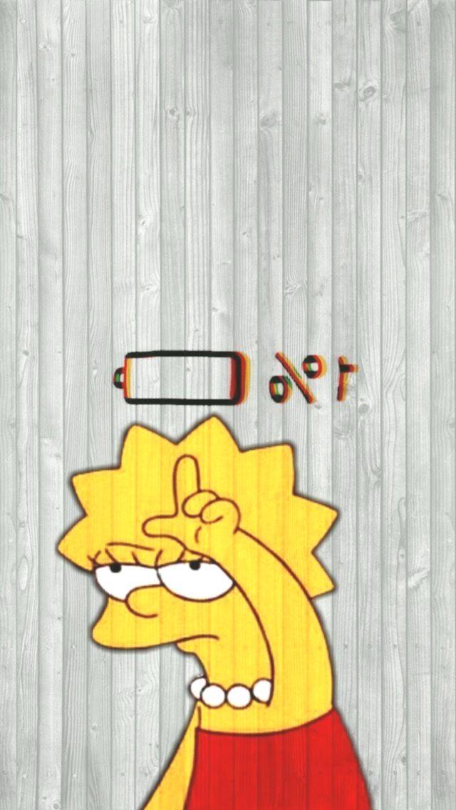 Iphone Hintergrundbild Hintergrundbild Lisa Simpson